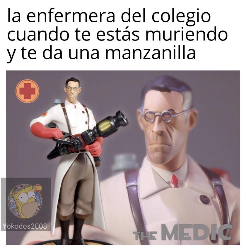 Esas enfermeras - meme