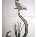 nada... que mi ardilla le gusta domar serpientes