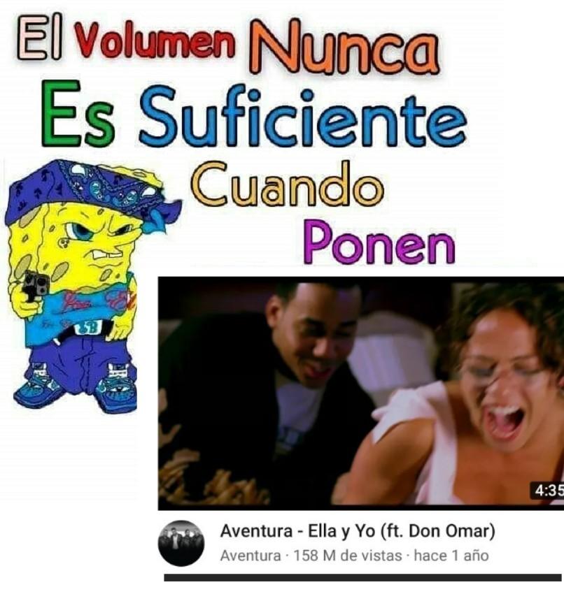 Me gusta esa canción :\ - meme