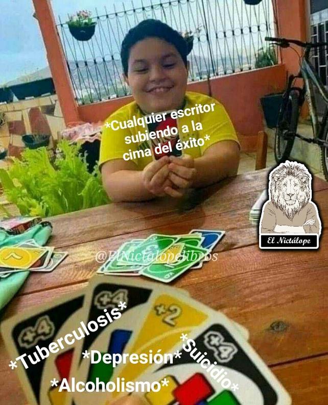 Escritor - meme