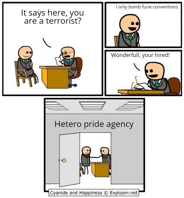 heterosexual pride! - meme