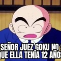 En este caso Goku no gana