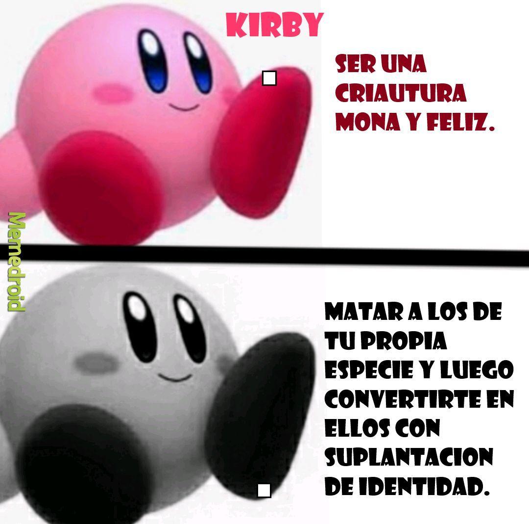 Kirby el maniaco kawaii - meme