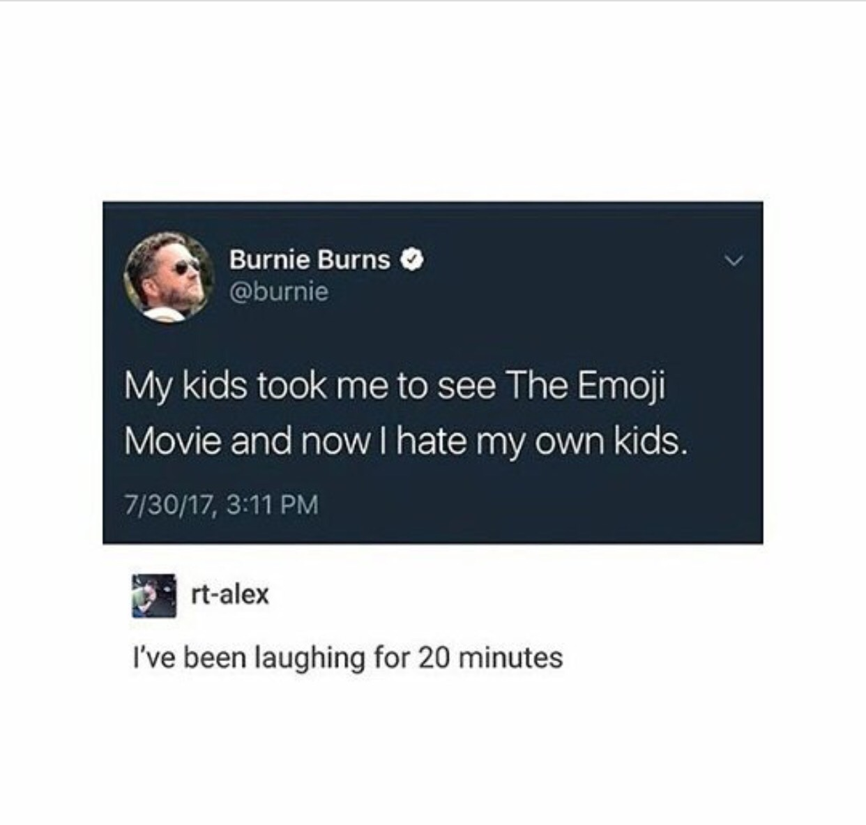 what a tragedy to hate your kids - meme
