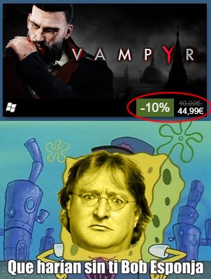 ¿Qué haríamos sin Gabe Newell? - meme