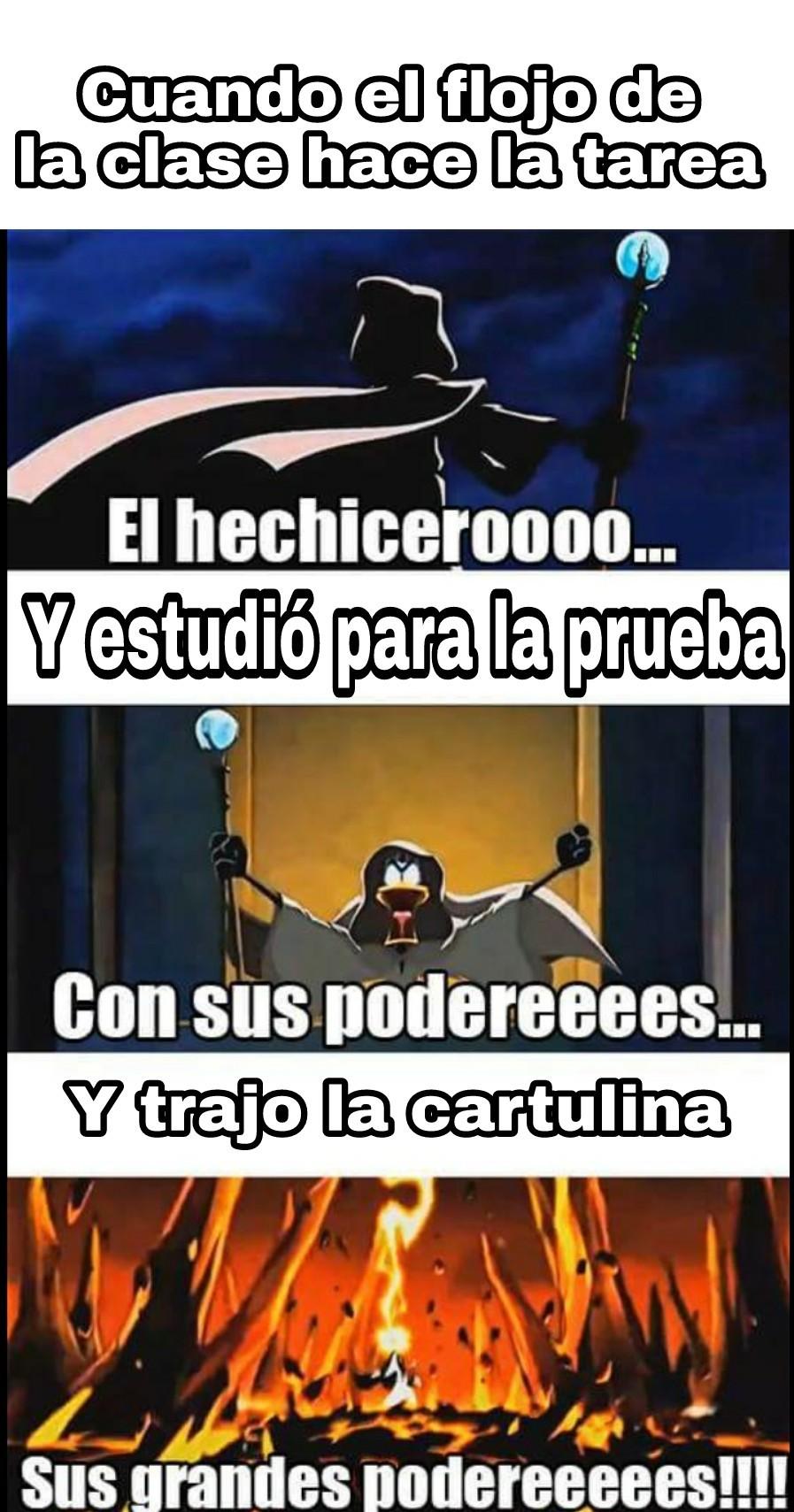El hechicero... - meme