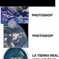 Como un terraplanista ve las fotos de la tierra