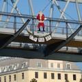 Santa gets it