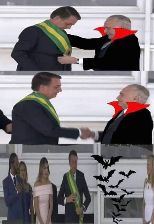 Adeus presidento - meme