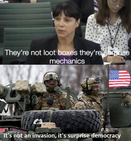 Surprise democracy - meme