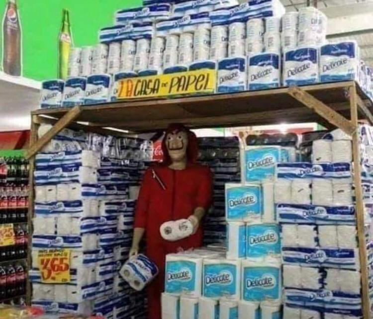 La casa de papel - meme