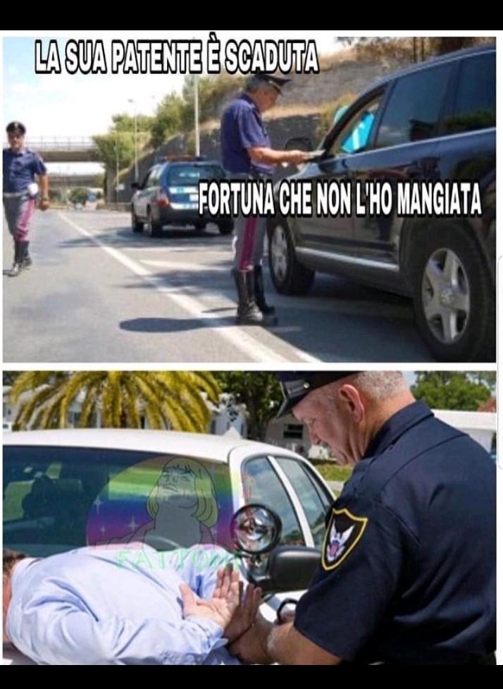 I veri motivi per cui si arresta qualcuno - meme