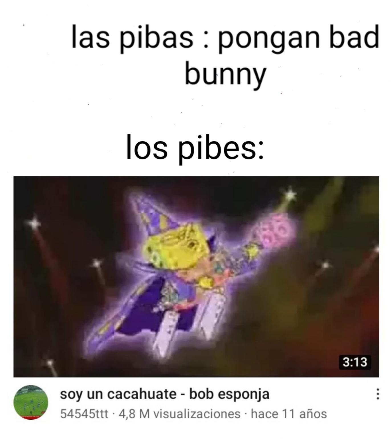 SOY UN CACAHUATE - meme