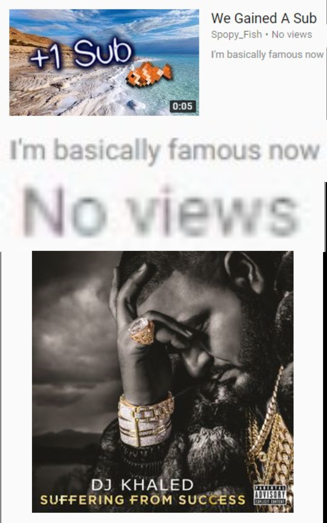 I wish I was as famous as him - meme