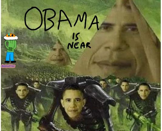 Obama está cerca - meme