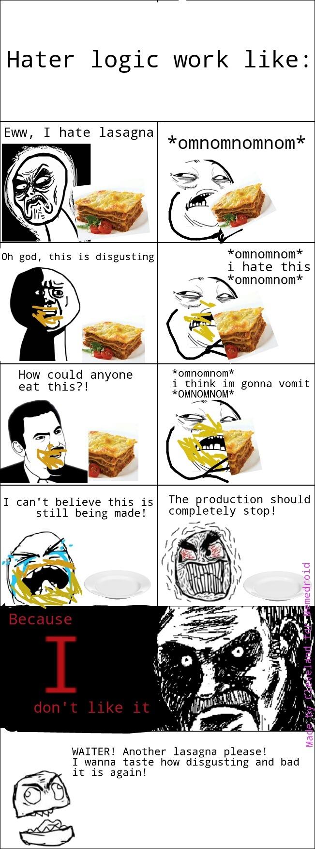 Hater Logic - meme
