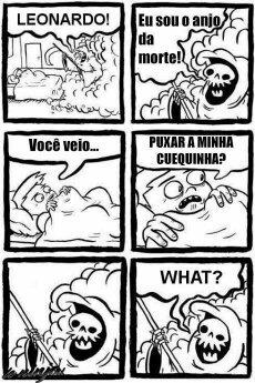 Morte safadenha - meme