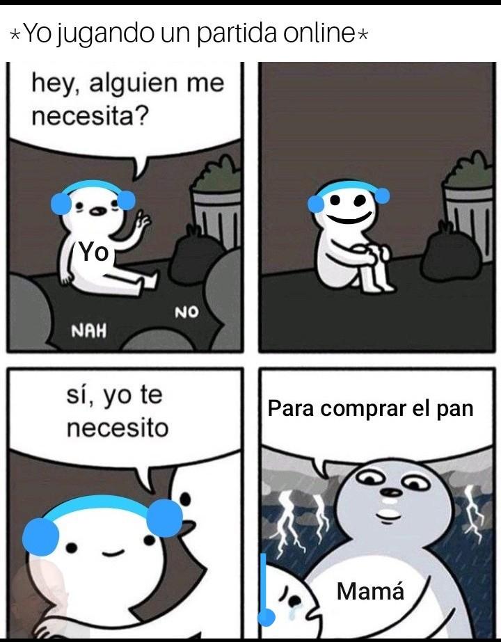 Mamá. - meme