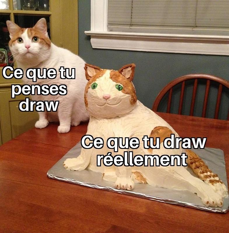Je draw des licornes - meme