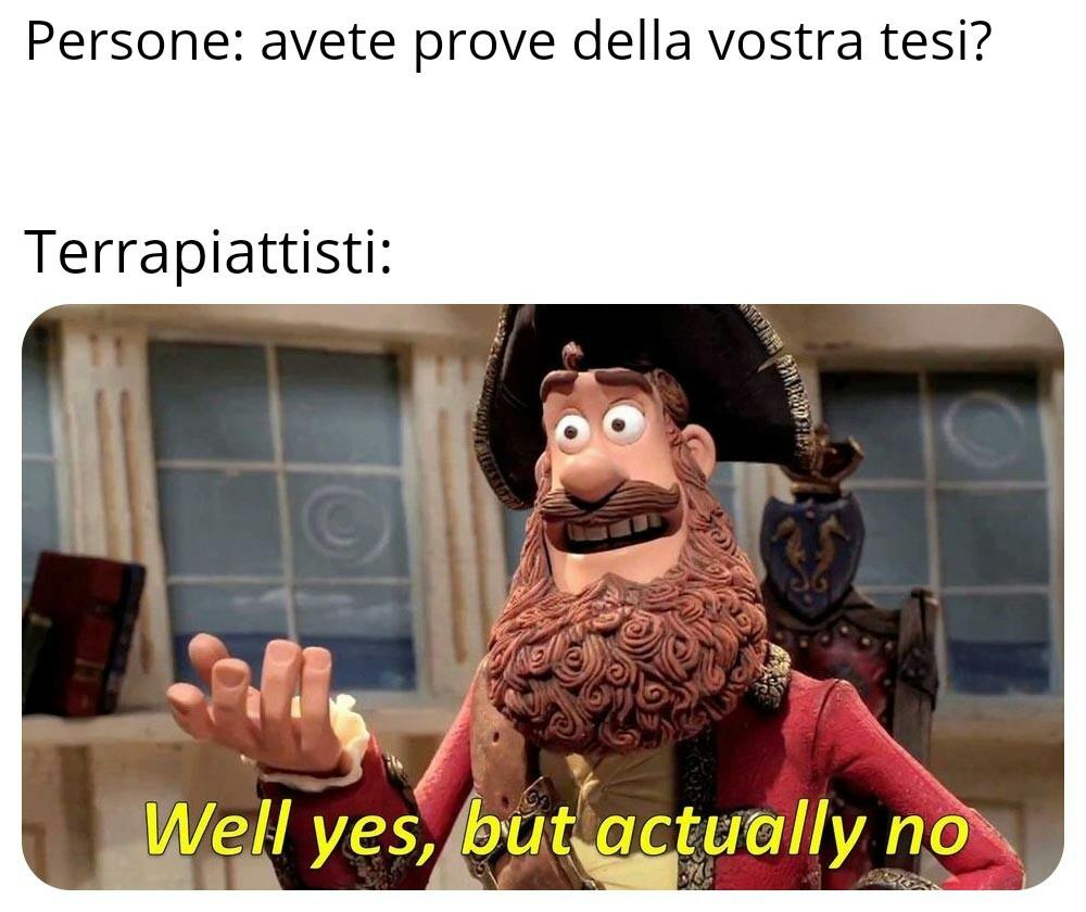 Beh si, ma anche no - meme