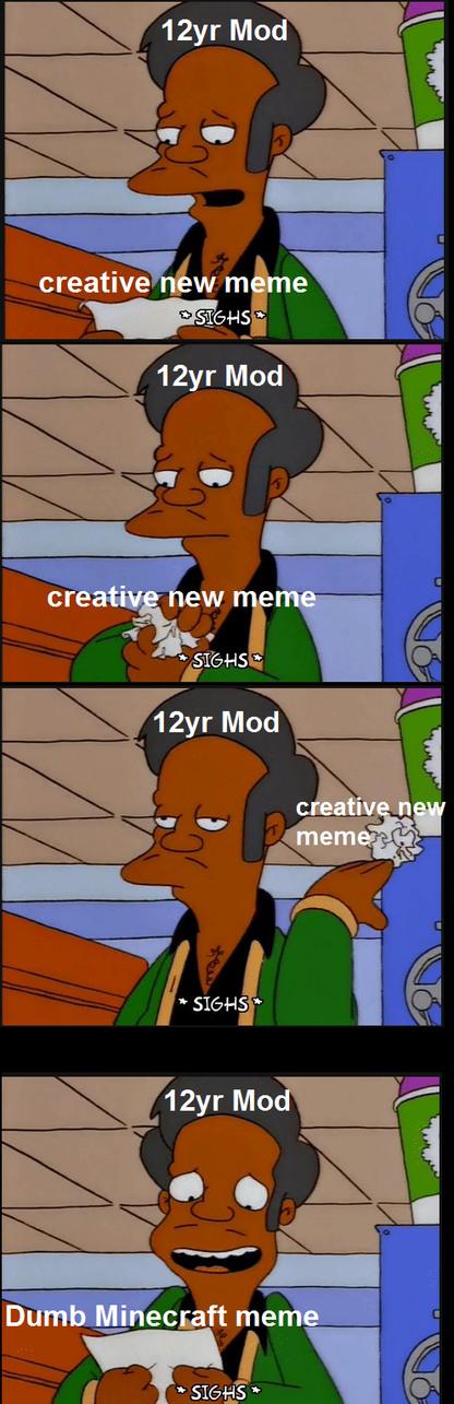 12yr Mods - meme