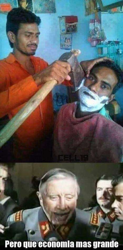 Para que afeitador - meme