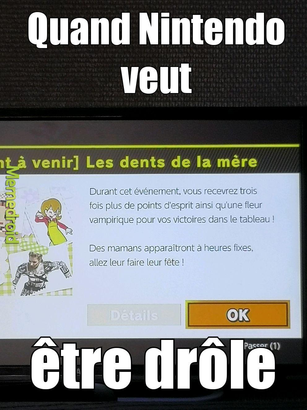Vive Nintendo - meme