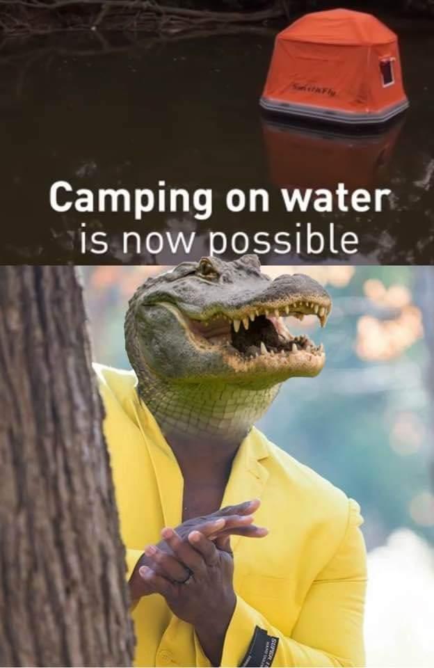 Crocs ready - meme