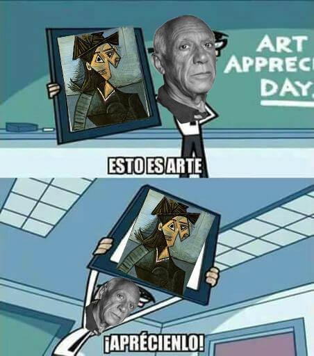 Es arte. - meme