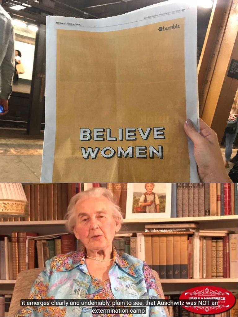 dongs in a woman - meme