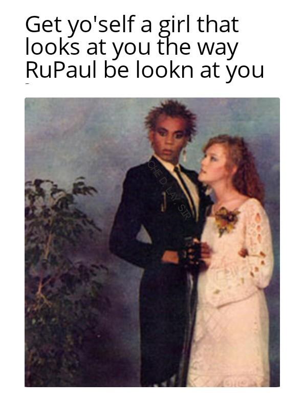 Quit staring - meme
