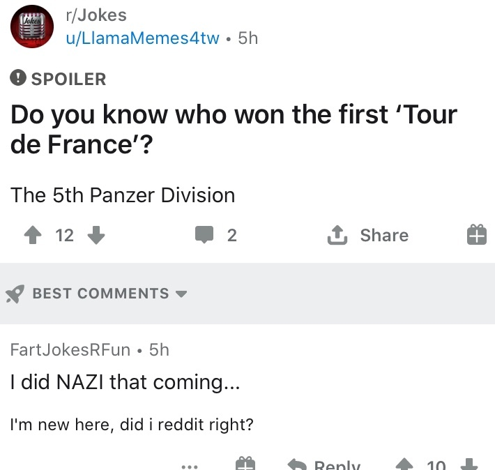 Nazi - meme