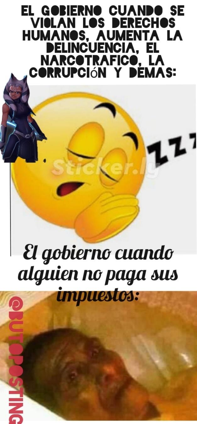 Tremendo el sueño - meme