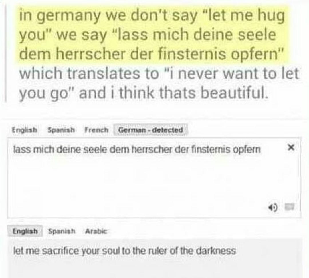 Ah yes.. german - meme