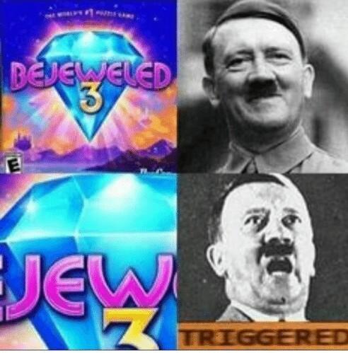 Be jew led - meme