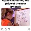 Voici les mathématiciens de chez apple