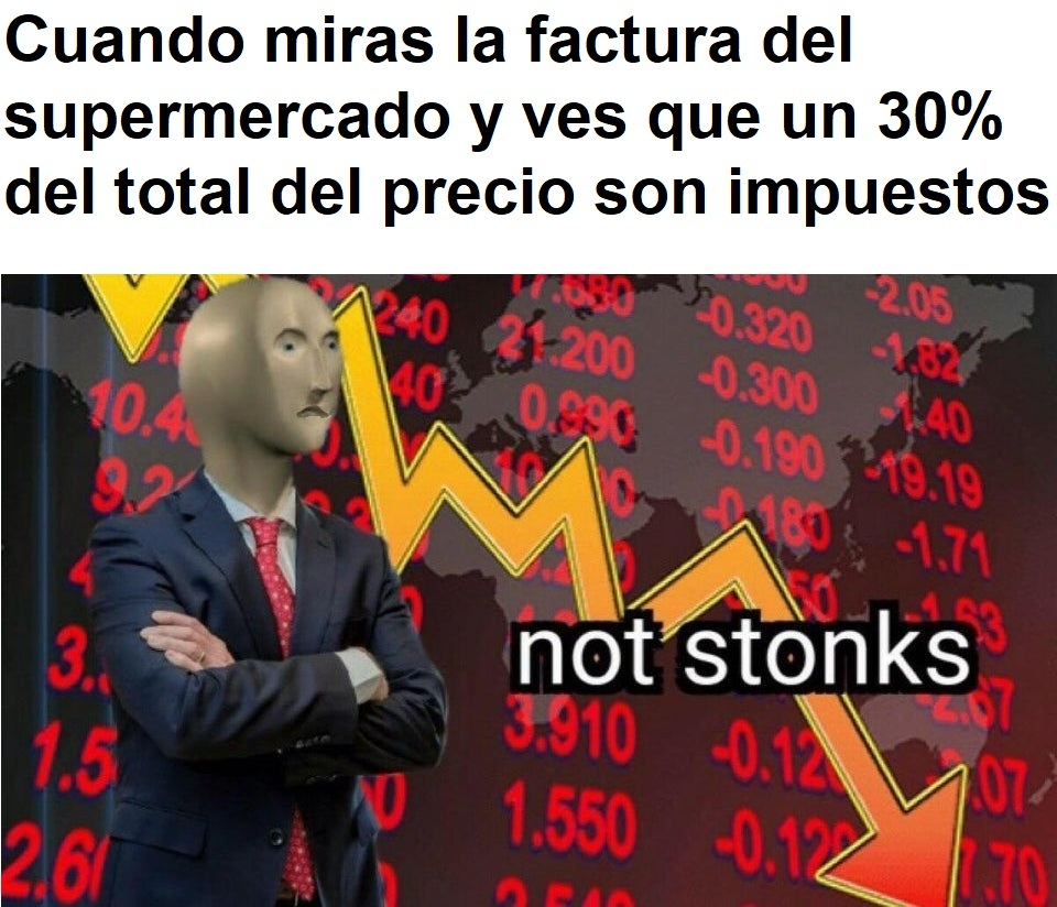 Not stonks - meme