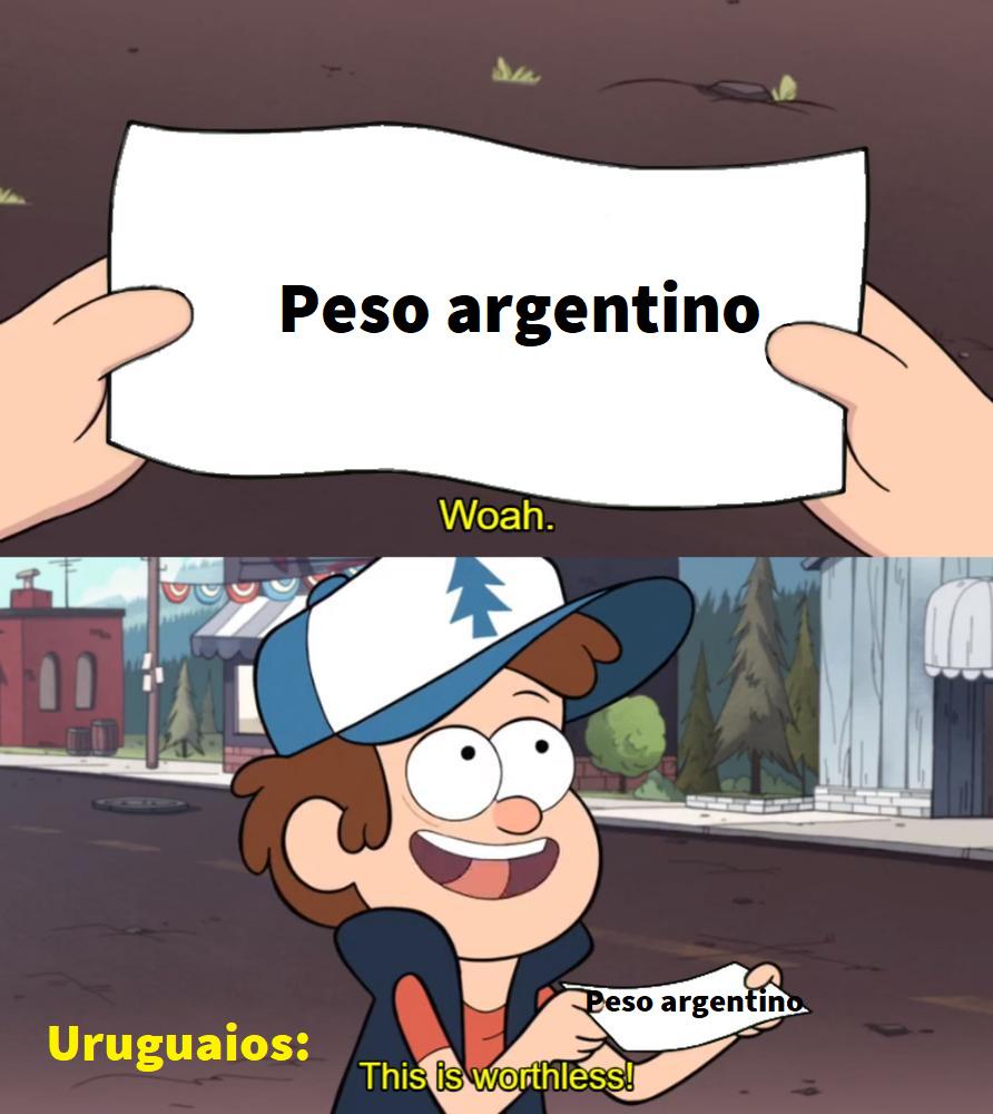 não vale nada - meme