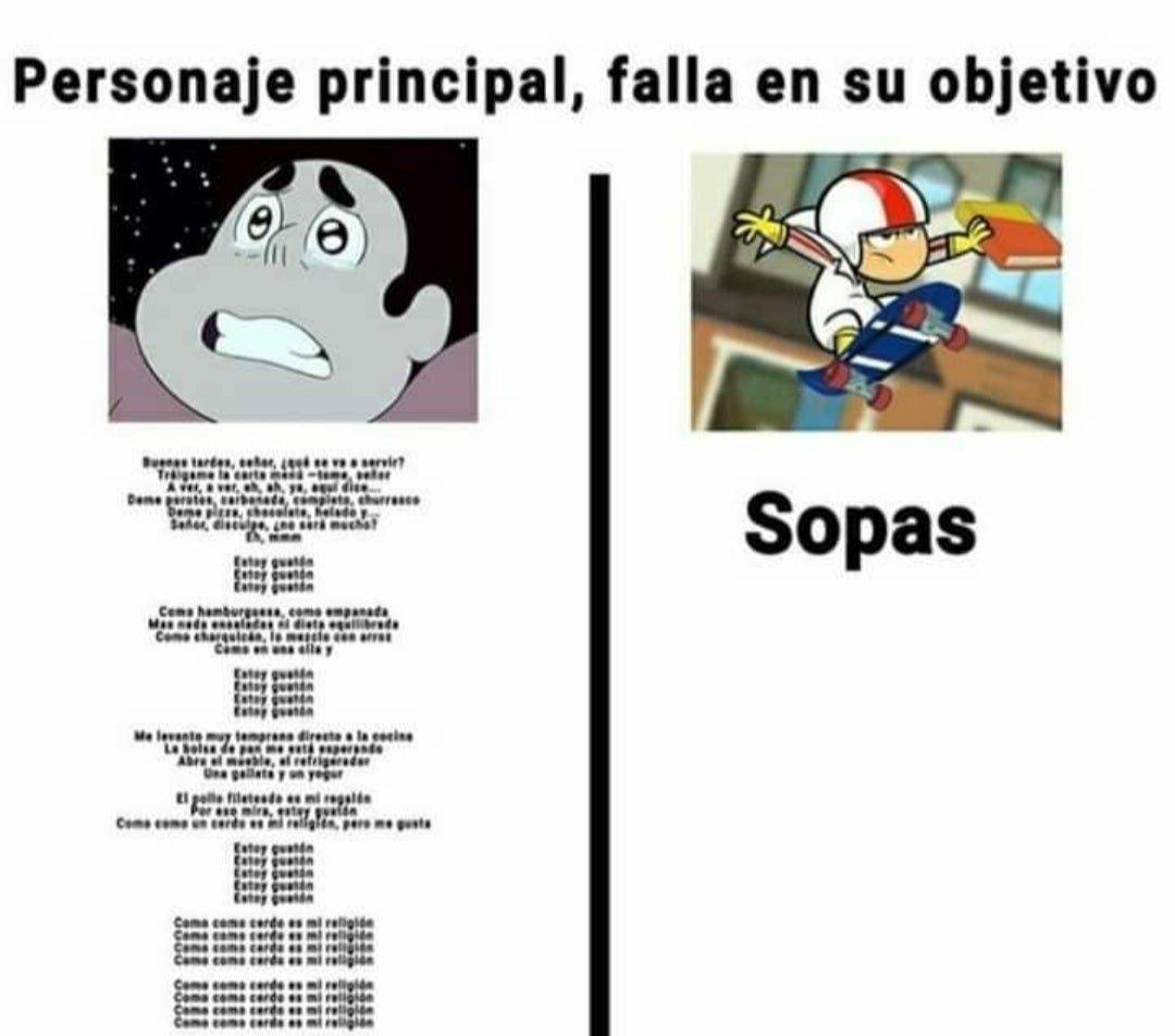 Sopas - meme