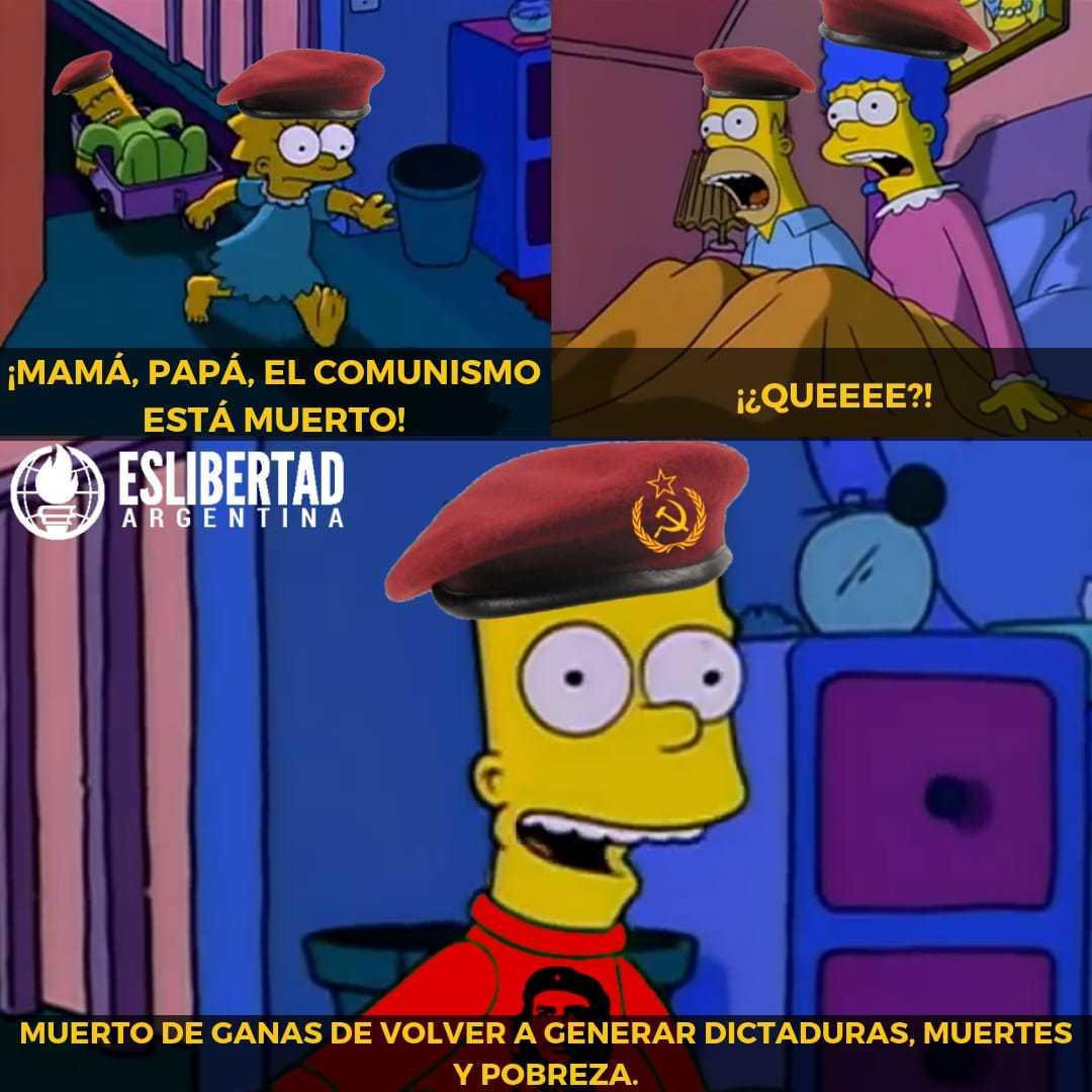 Comunistas be like - meme