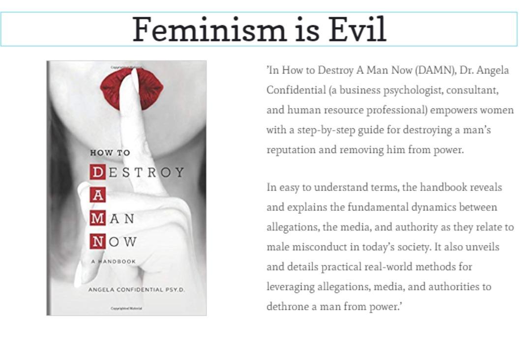 Feminism is Evil - meme