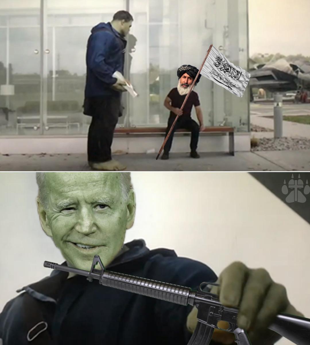 Free guns - meme