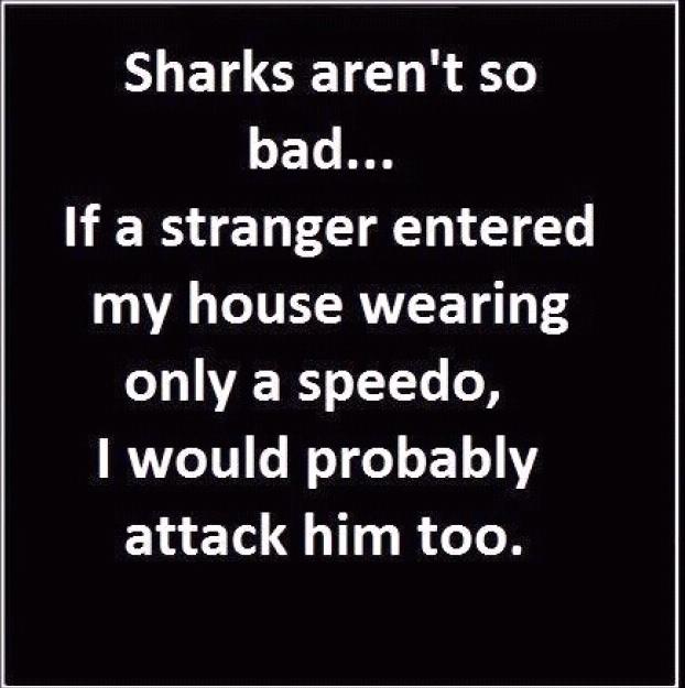 sharks..... - meme