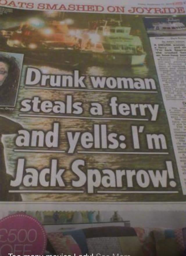 *Captain Jack Sparrow - meme