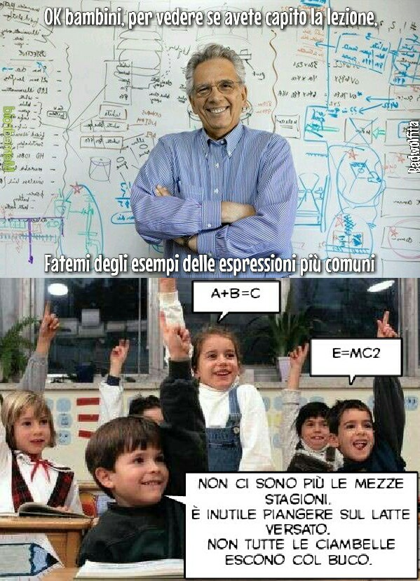 Matematica monella - meme