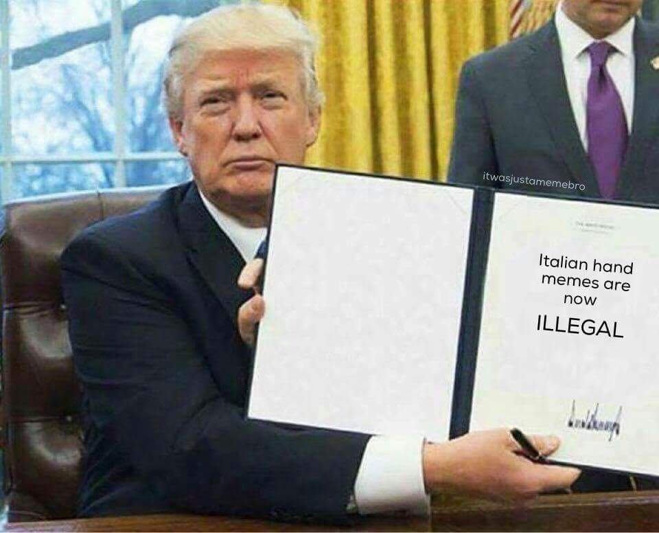 58cc4a17f0b9d trump says no, to italian hand memes meme by supbitches98