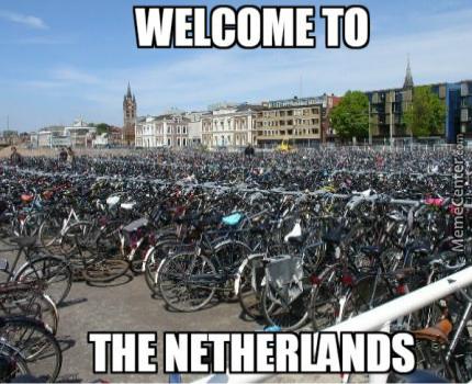 bikes everywhere - meme