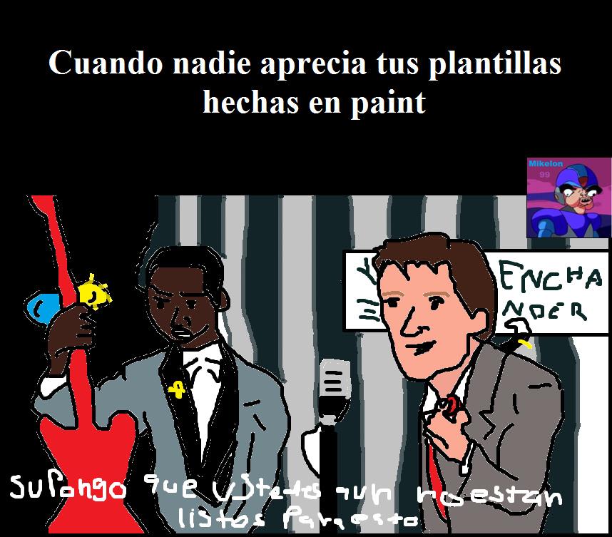 No es paint jejeje - meme