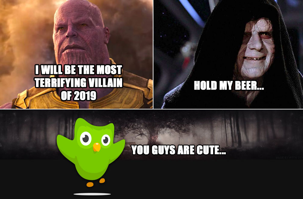 Biggest villain of 2019 is...? - meme
