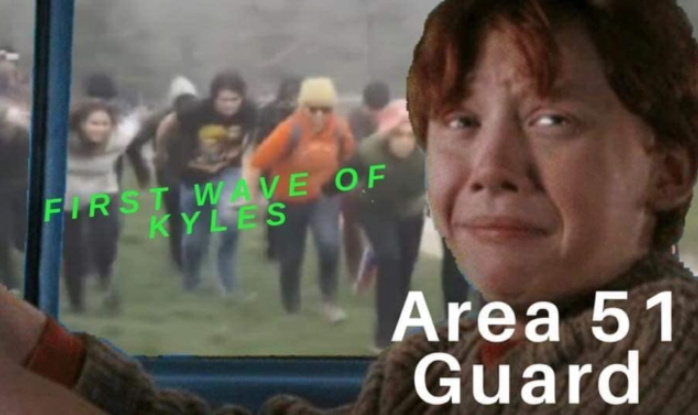 THAT'S JUST THE FIRST WAVE >:D - meme